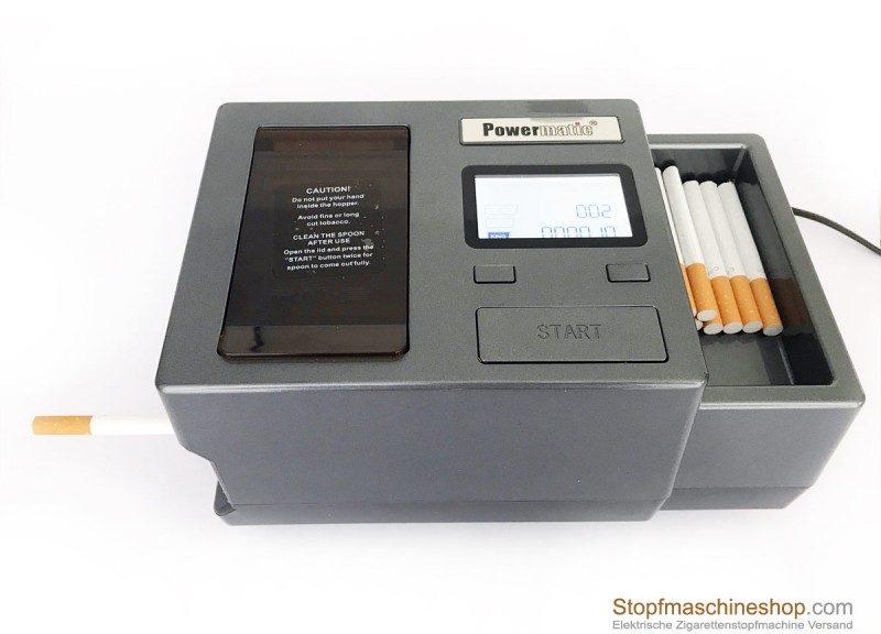 Stopfmaschineshop.com Powermatic 3 Plus